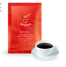 Office cafe spoon RED PACK